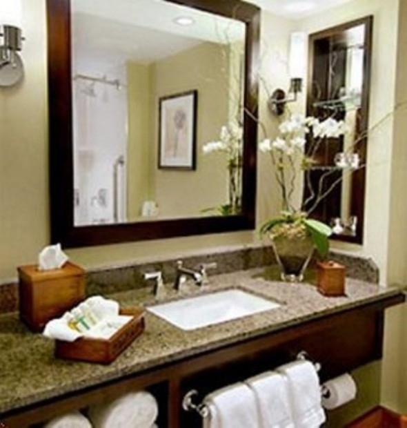 Spa Bathroom Decor Photo 1