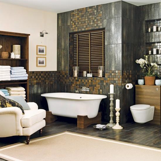 spa bathroom decorating ideas photo - 10