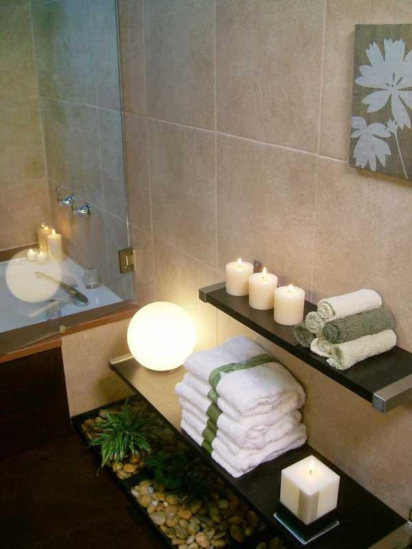 spa bathroom decorating ideas photo - 5