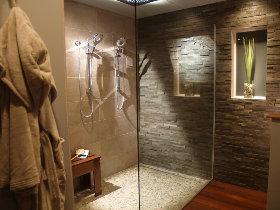 spa bathroom floors photo - 2