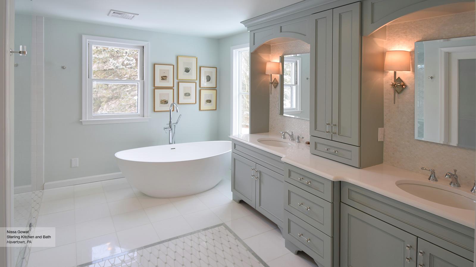 spa bathroom furniture photo - 9