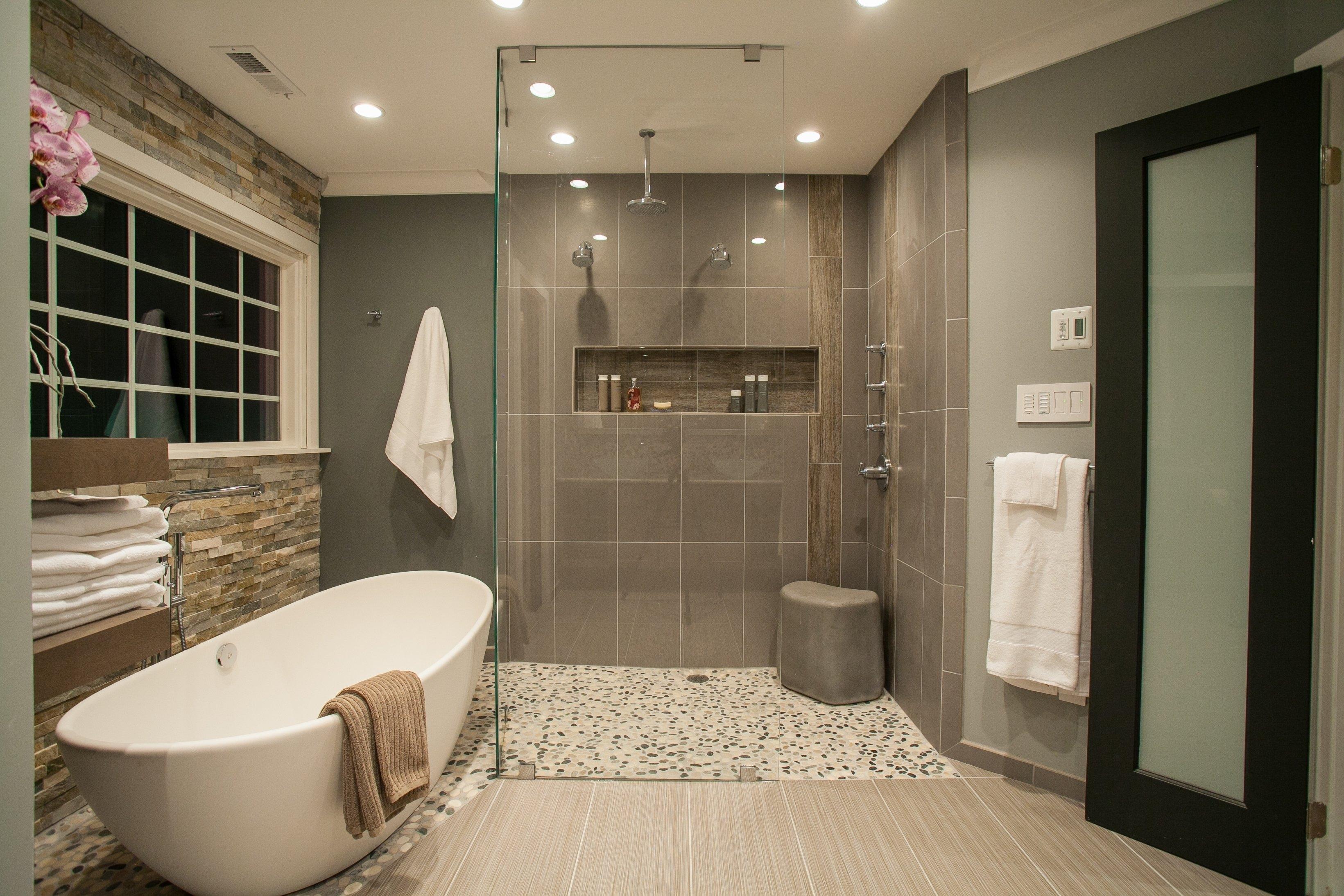 spa bathroom gallery photo - 8