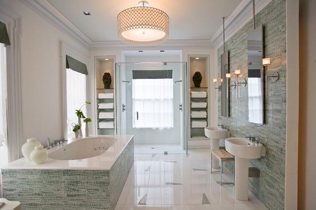 spa bathroom houzz photo - 1