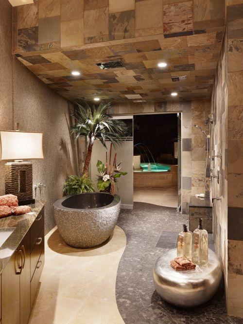 spa bathroom houzz photo - 4