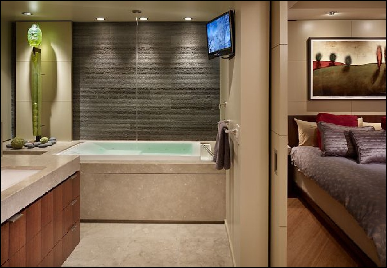 spa bathroom ideas decorating photo - 9