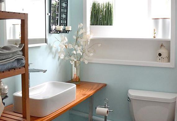 spa bathroom makeover photo - 2