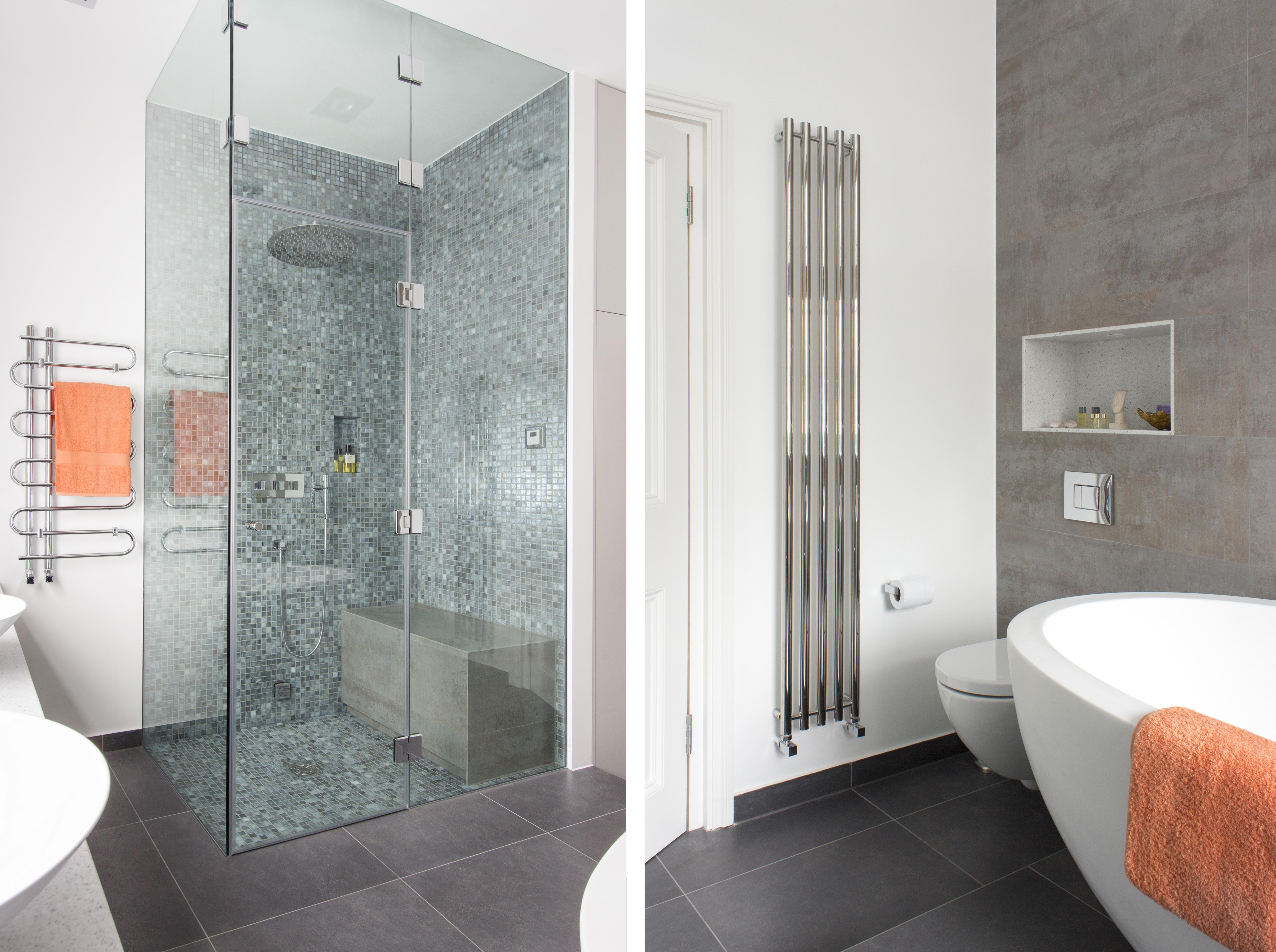 spa bathroom makeover photo - 8