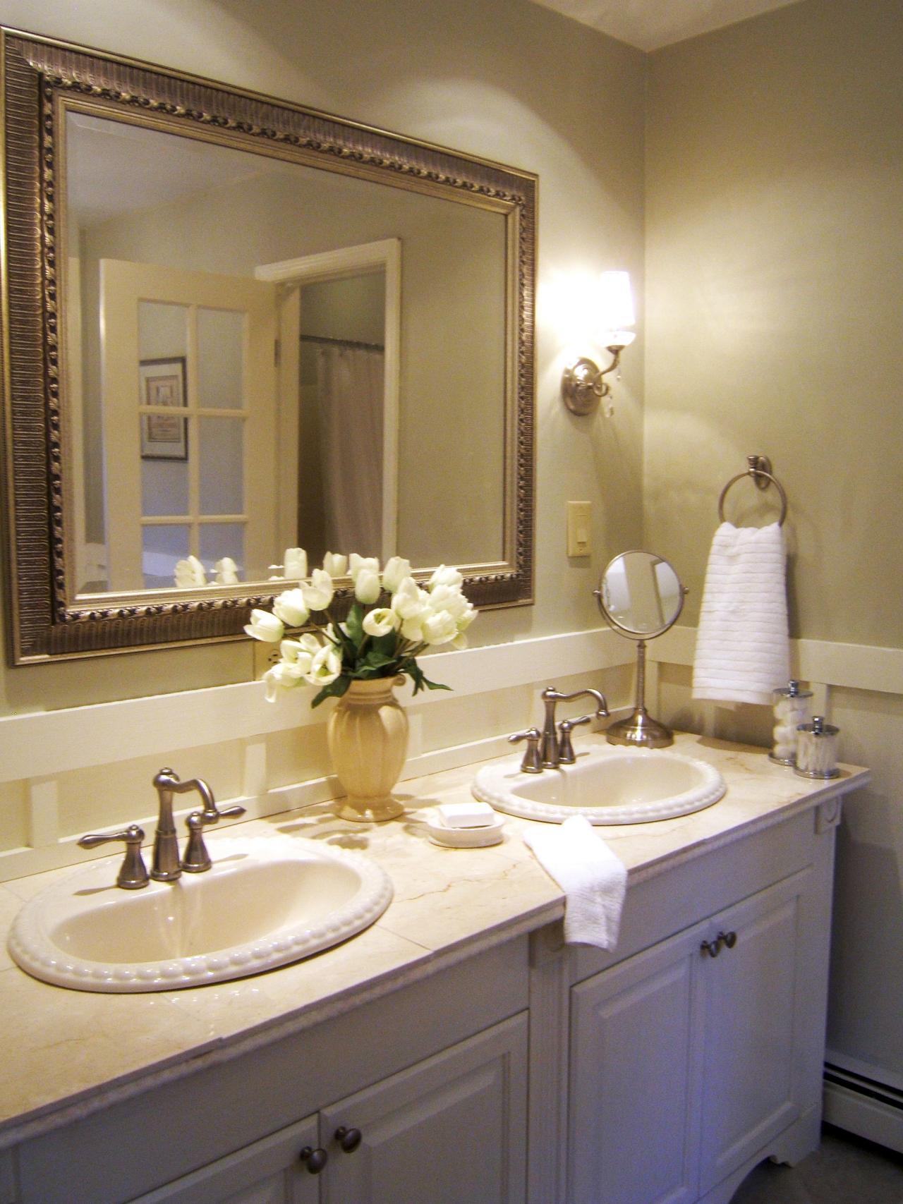 spa bathroom makeover photo - 9