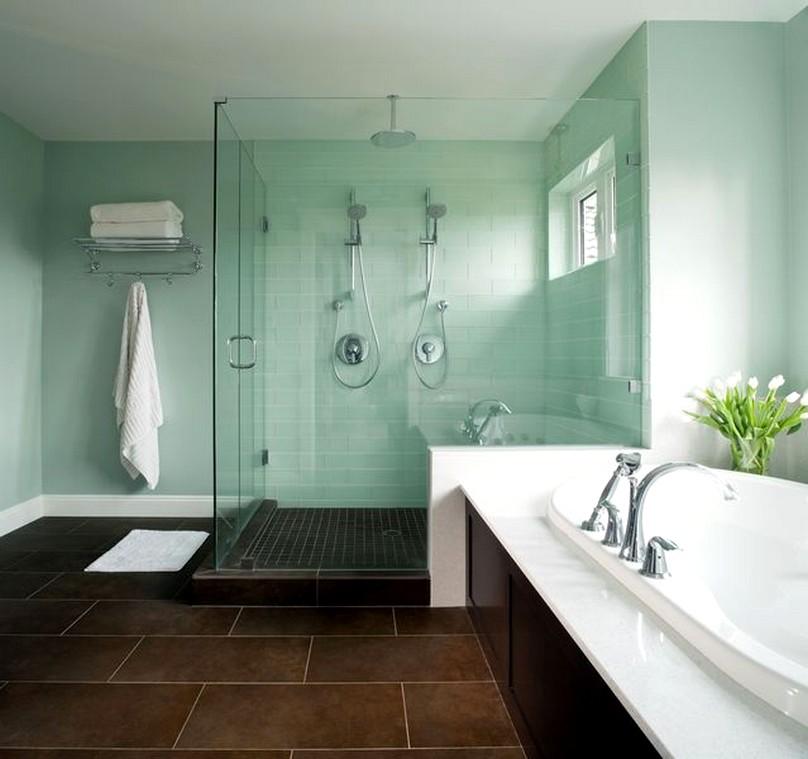 spa bathroom on a budget photo - 1