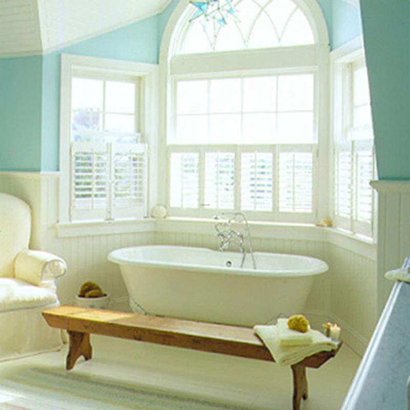 spa bathroom on a budget photo - 10