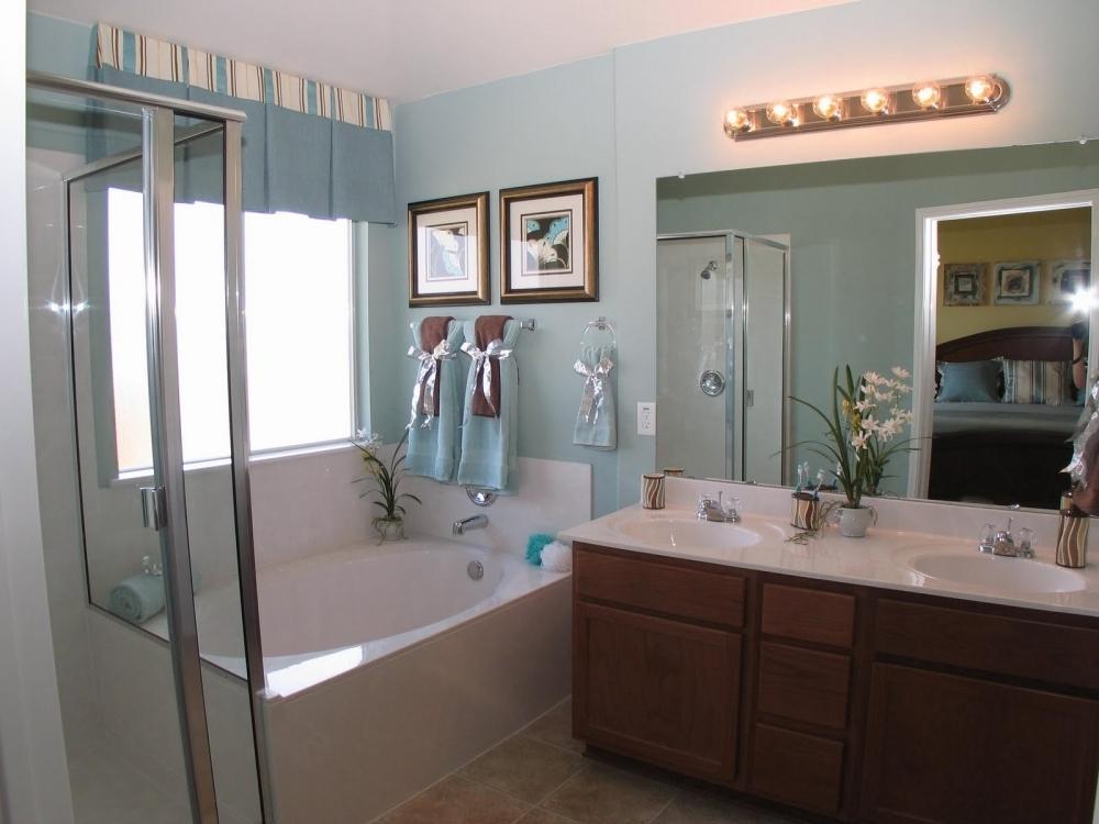 spa bathroom on a budget photo - 4