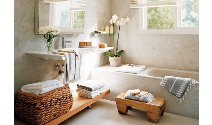 spa bathroom on a budget photo - 5