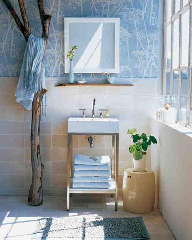 spa bathroom on a budget photo - 6