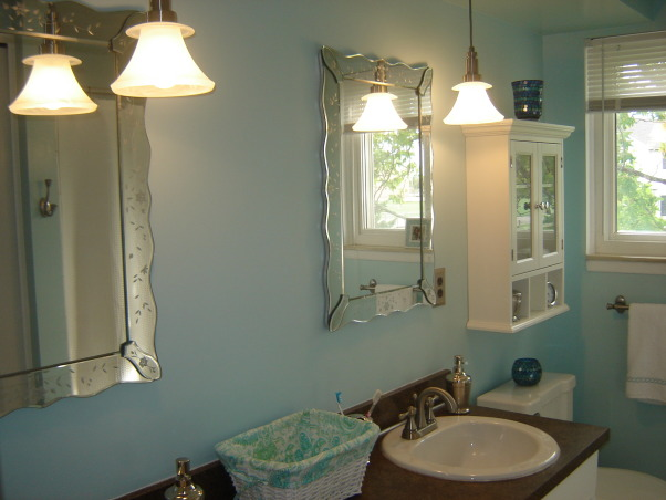 spa bathroom on a budget photo - 7
