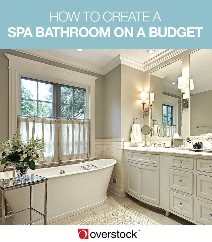 spa bathroom on a budget photo - 9