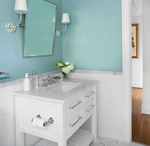 spa bathroom paint colors photo - 7