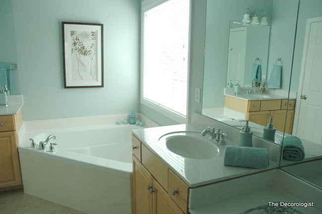 Spa Bathroom Paint Colours