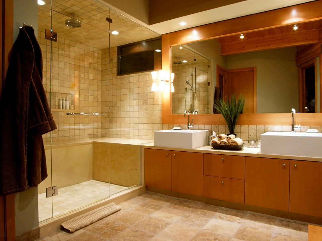 spa bathroom remodel photo - 10