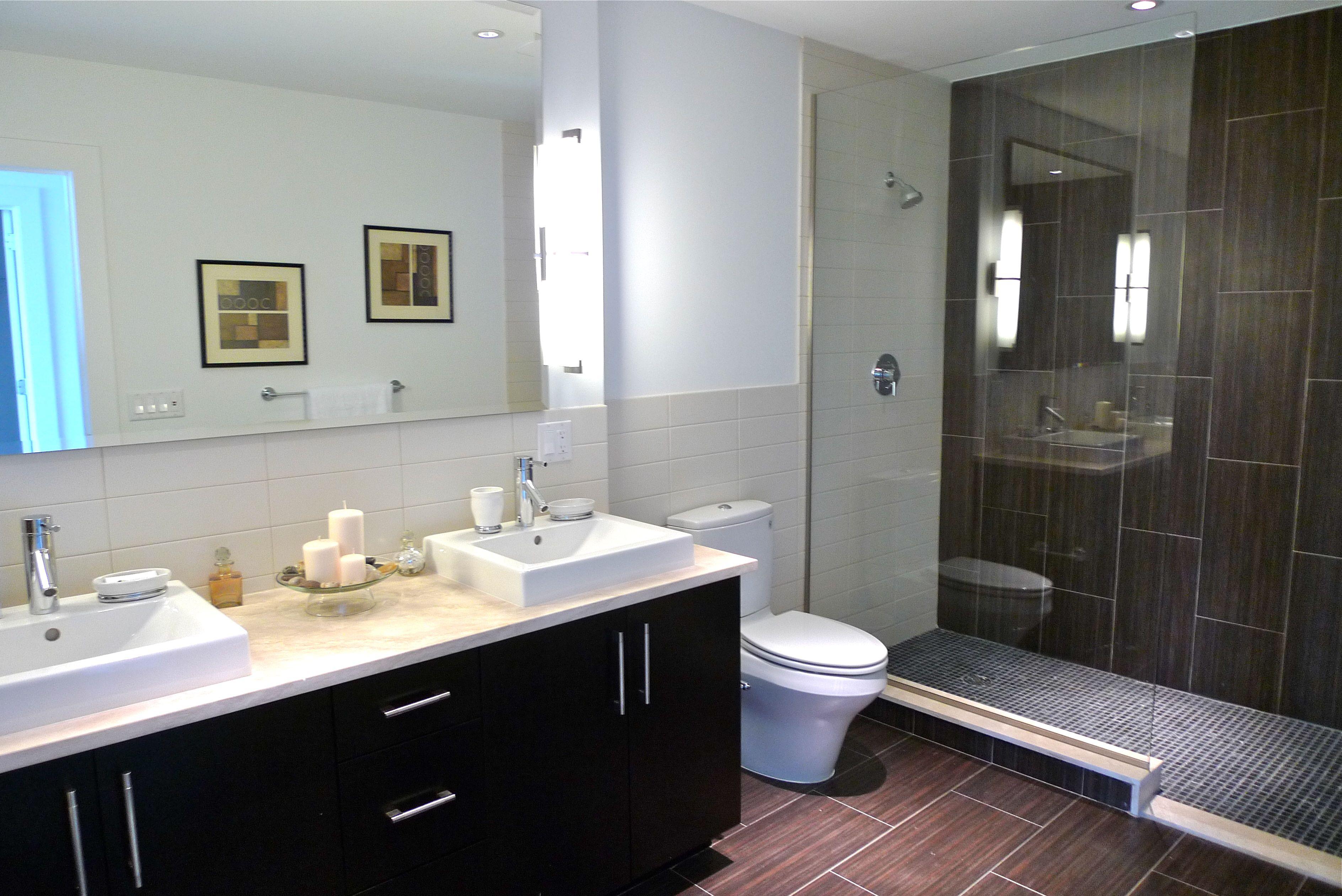 spa bathroom remodel photo - 7