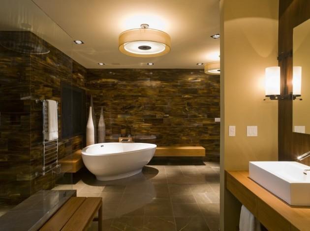 spa bathroom remodel photo - 8