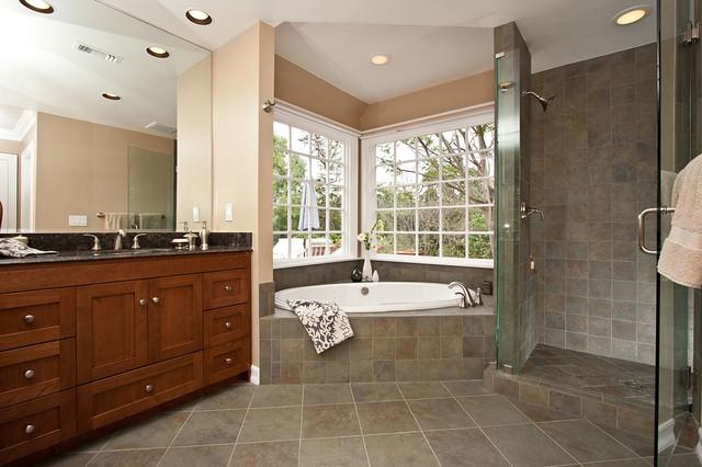 spa bathroom remodel photo - 9