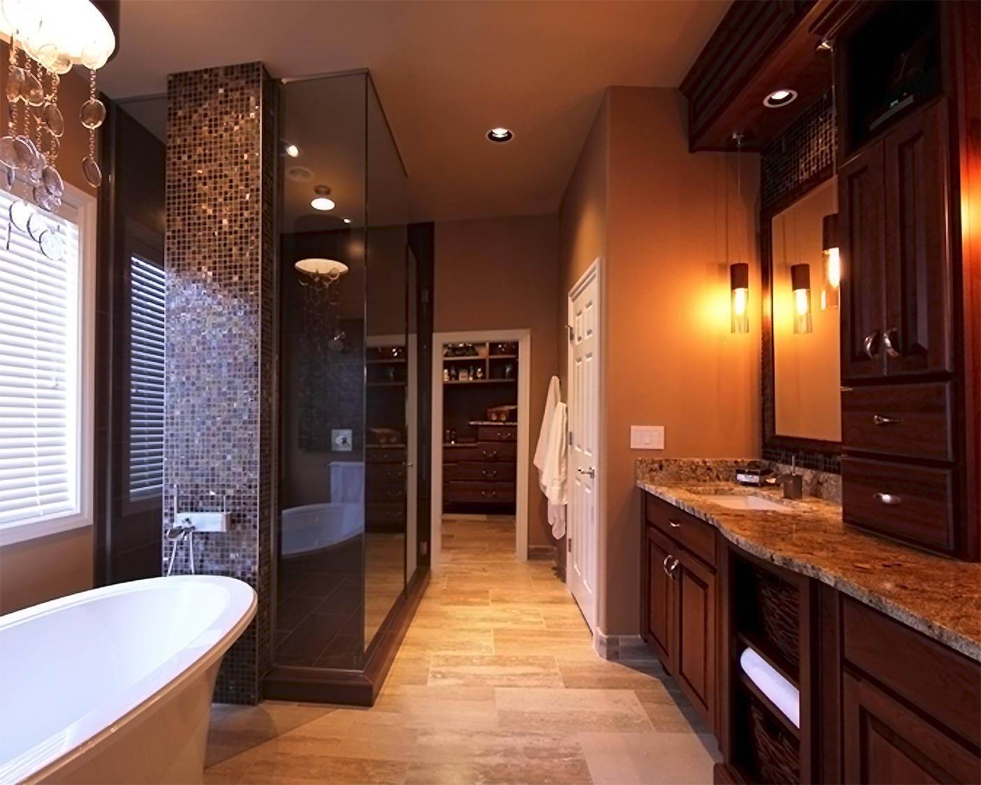 spa bathroom renovations photo - 1