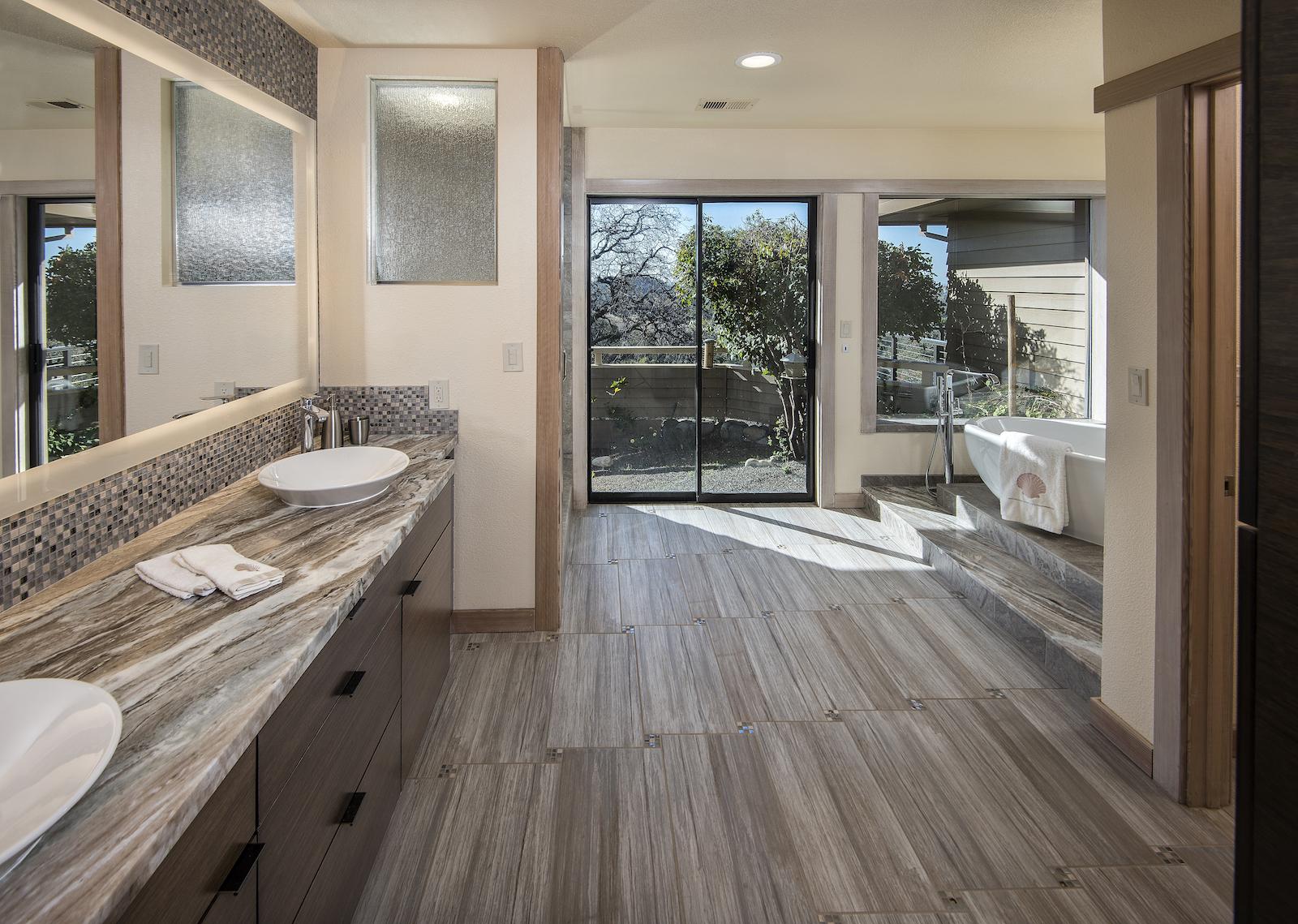 spa bathroom renovations photo - 3