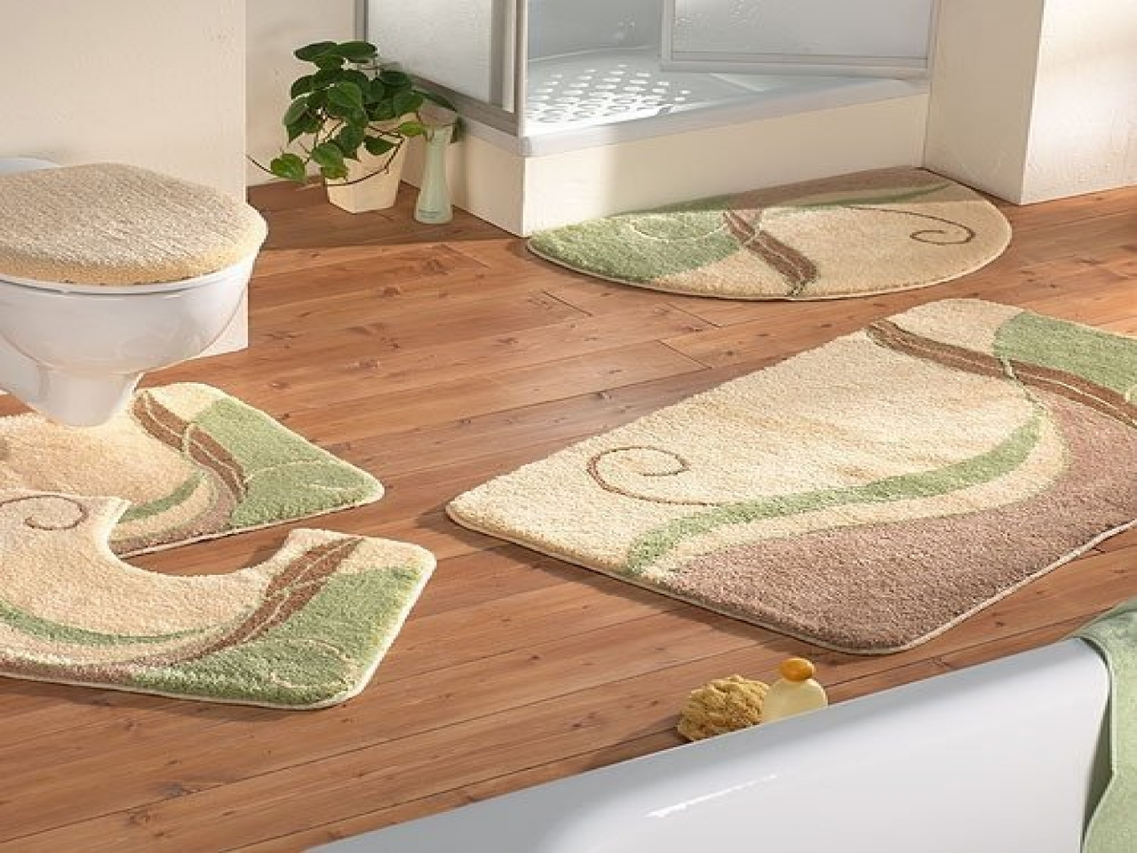 spa bathroom rugs photo - 5