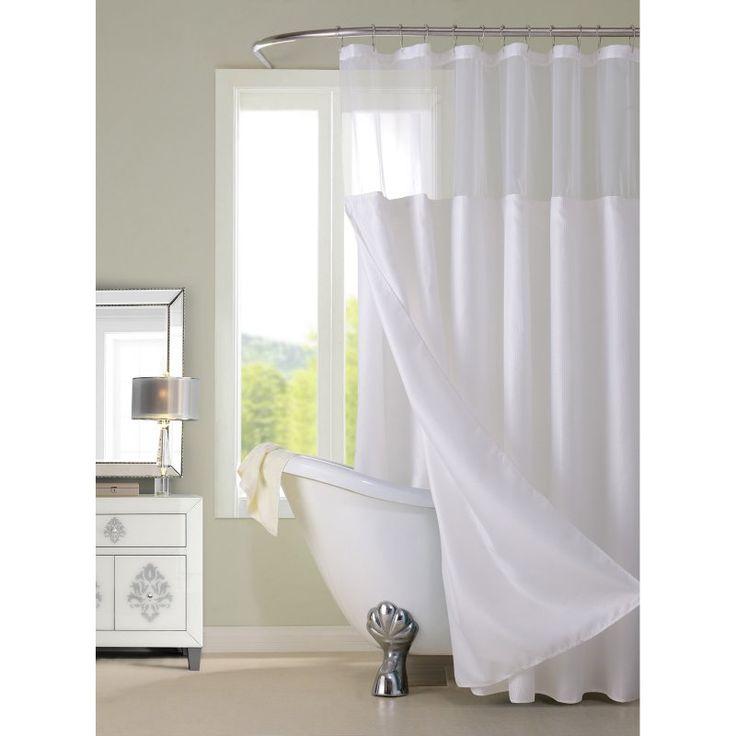 spa bathroom shower curtains photo - 7