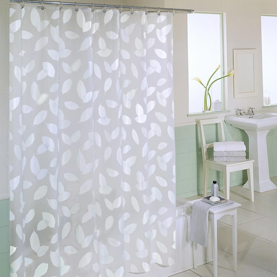 spa bathroom shower curtains photo - 8