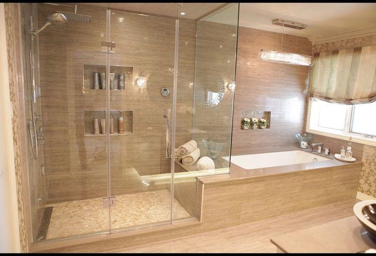 spa bathroom shower ideas photo - 10