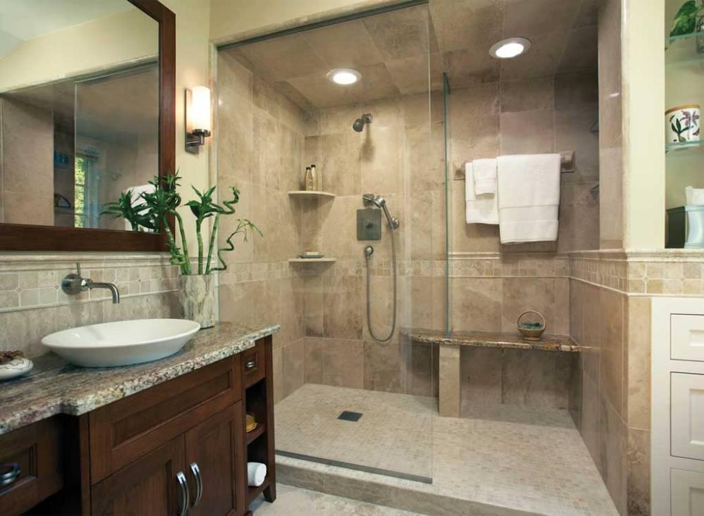spa bathroom shower ideas photo - 4