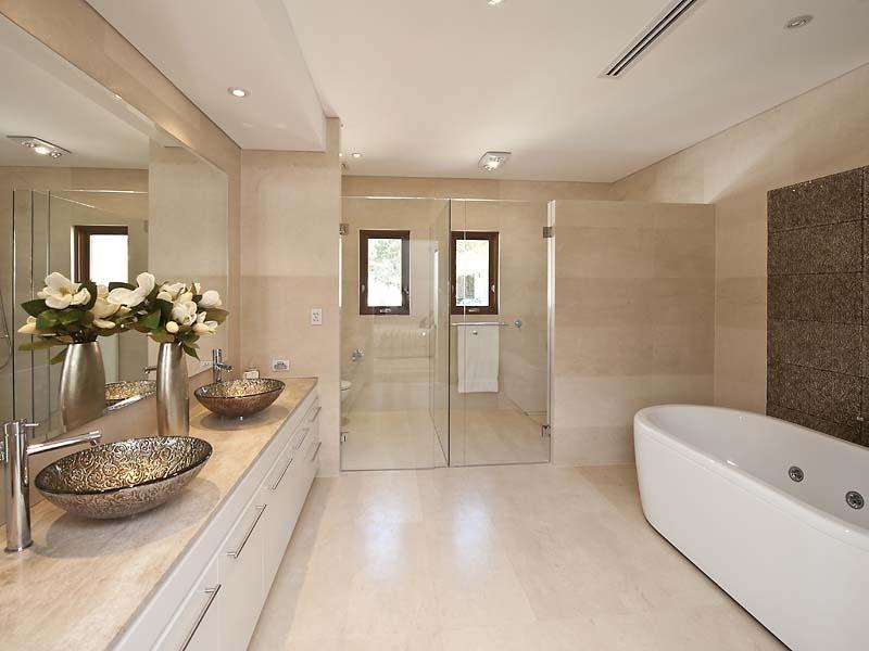 spa bathroom shower ideas photo - 8