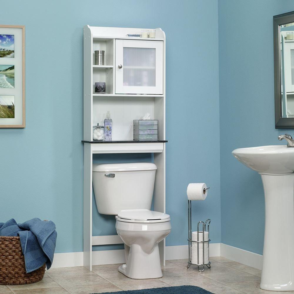 spa bathroom storage photo - 2