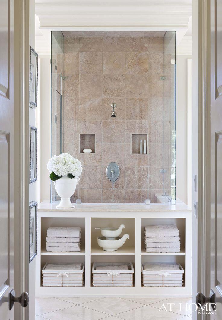 spa bathroom storage photo - 5