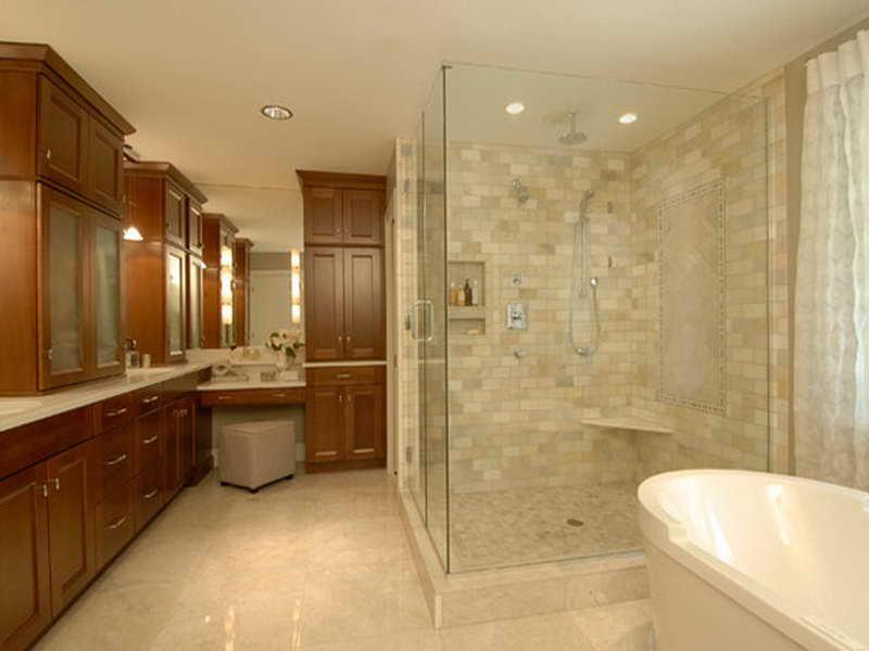 spa bathroom tile ideas photo - 4