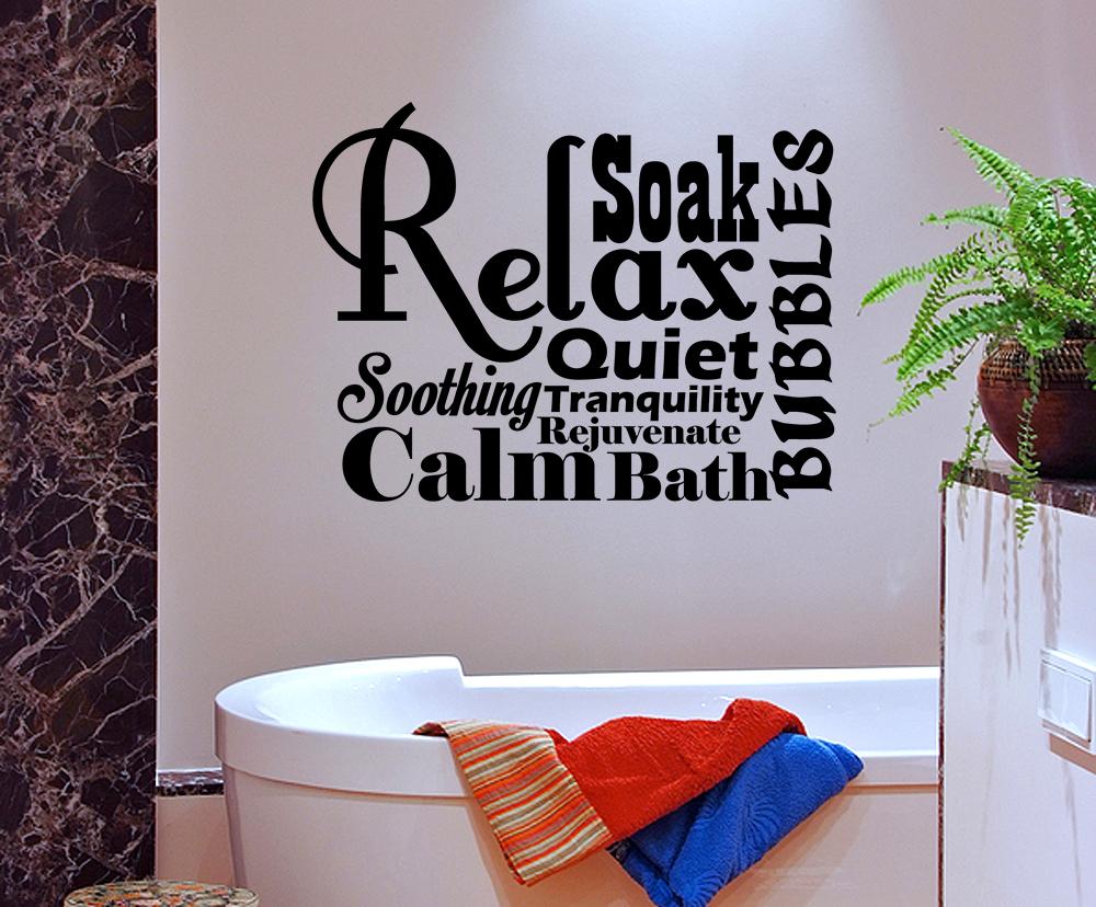 spa bathroom wall art photo - 2