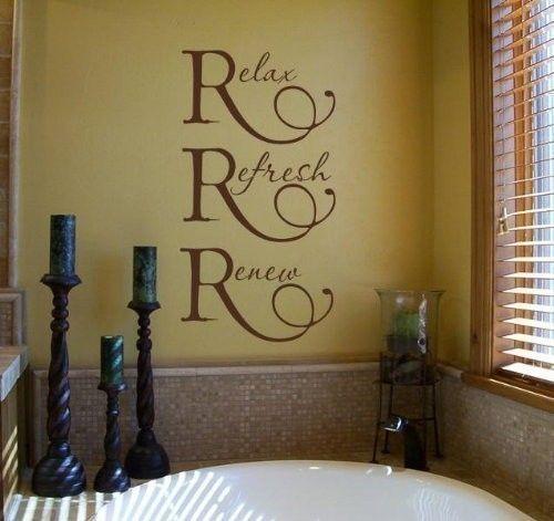 spa bathroom wall art photo - 3
