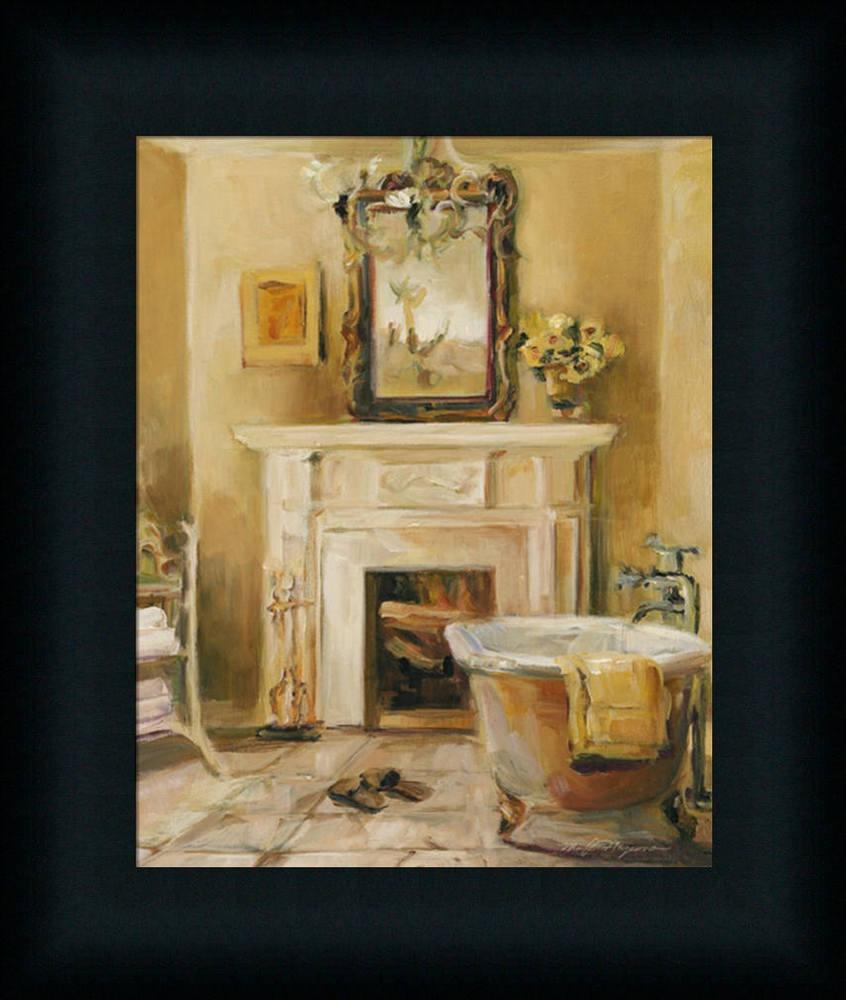 spa bathroom wall art photo - 7