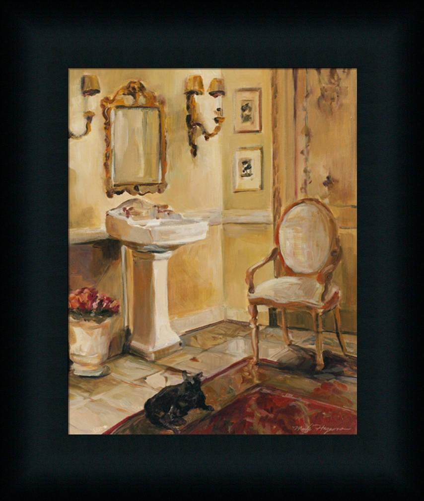 spa bathroom wall art photo - 8