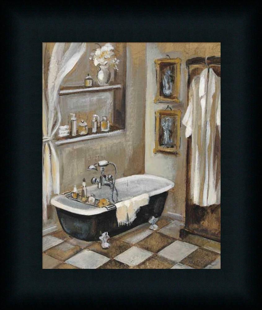 spa bathroom wall art photo - 9