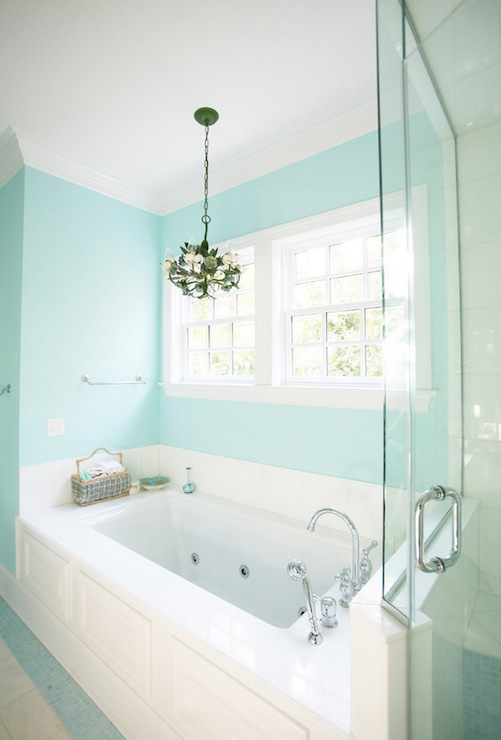 spa bathroom wall color photo - 1