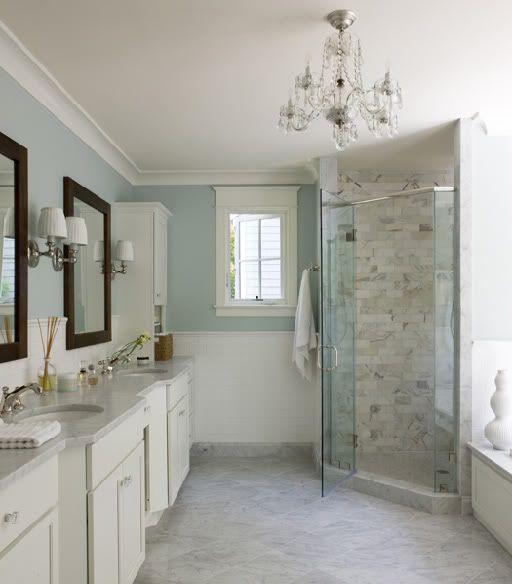 spa bathroom wall color photo - 2