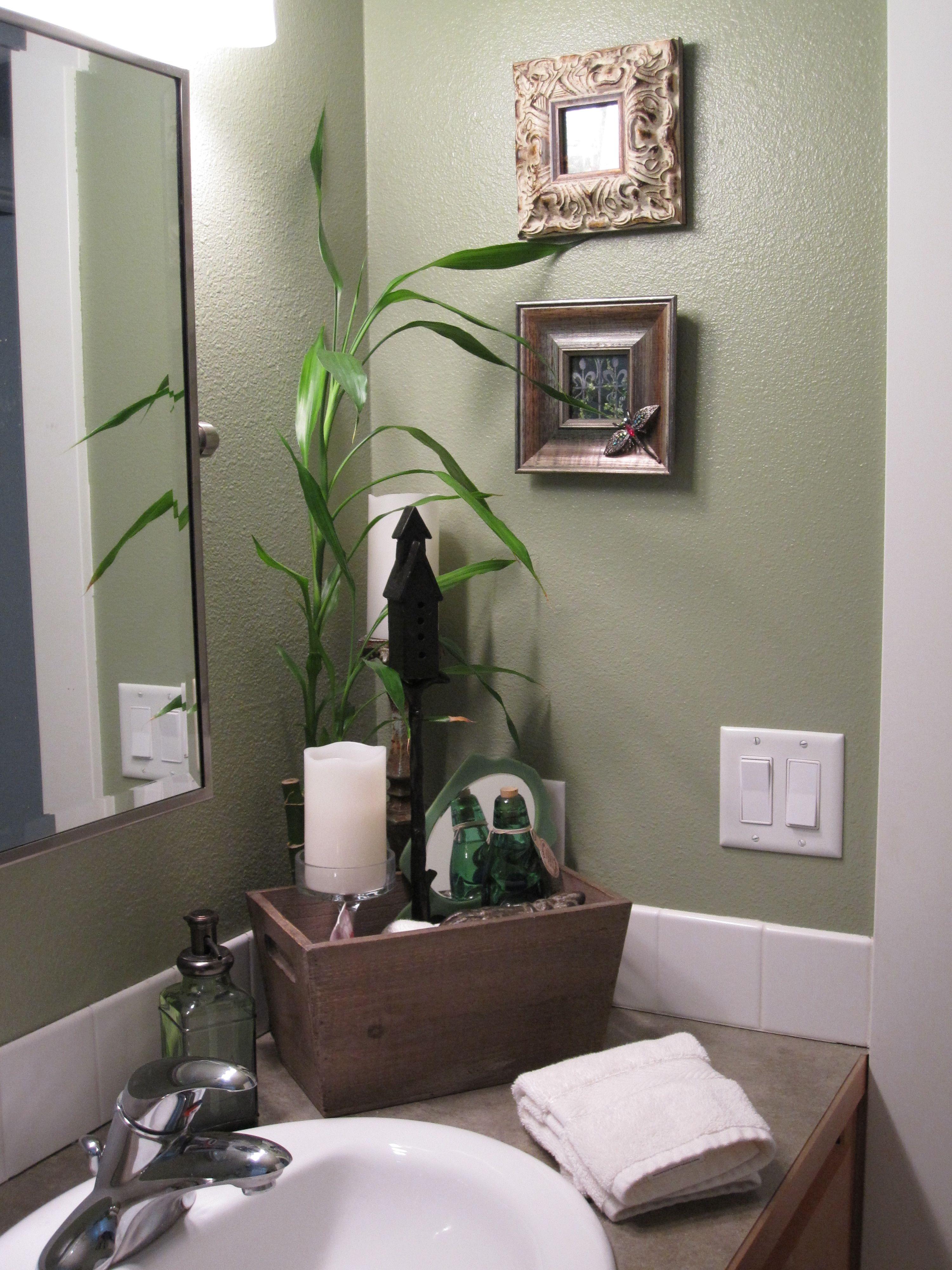 spa bathroom wall color photo - 4