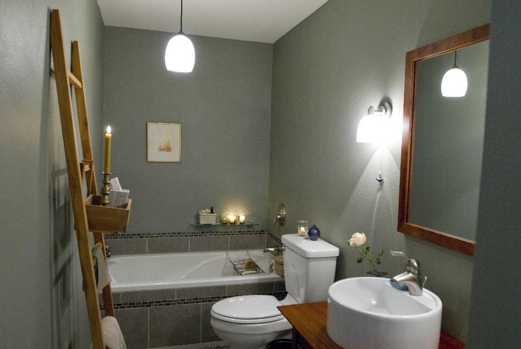 spa bathroom wall color photo - 5