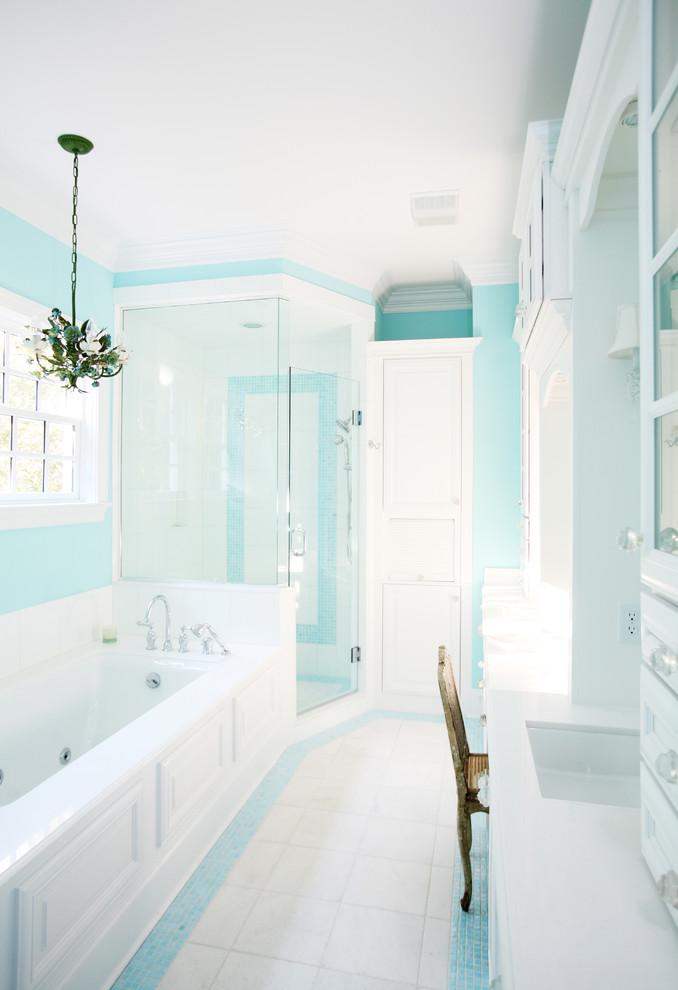 spa bathroom wall color photo - 8