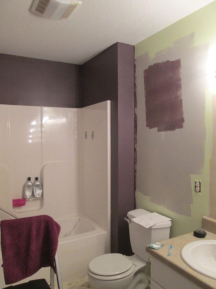 spa bathroom wall color photo - 9