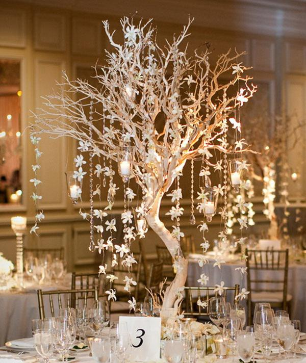 square dining table centerpiece photo - 6