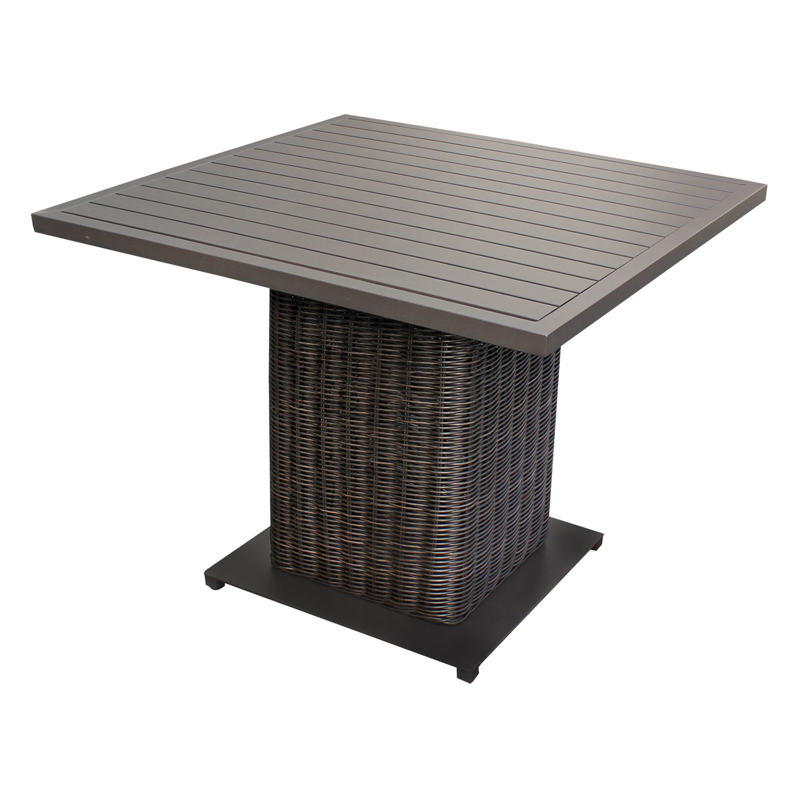 square dining table for 4 photo - 5