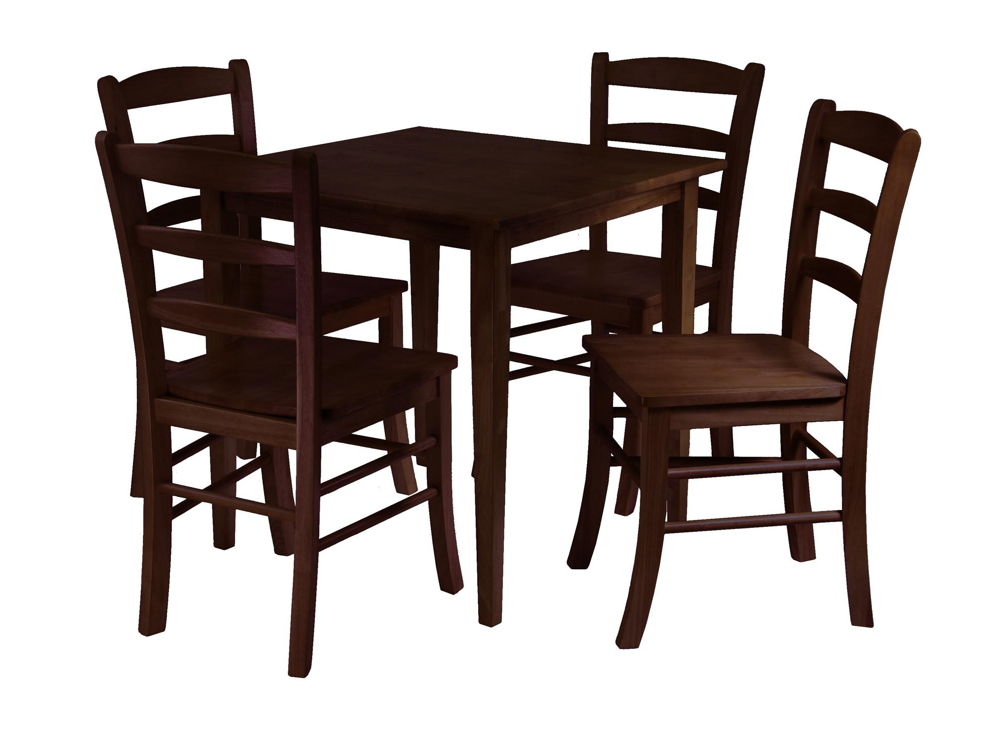 square dining table for 4 photo - 6